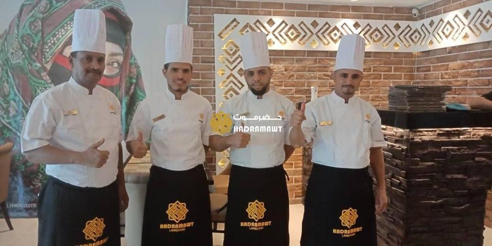 Staff and Chef at Hadramawt Langkawi